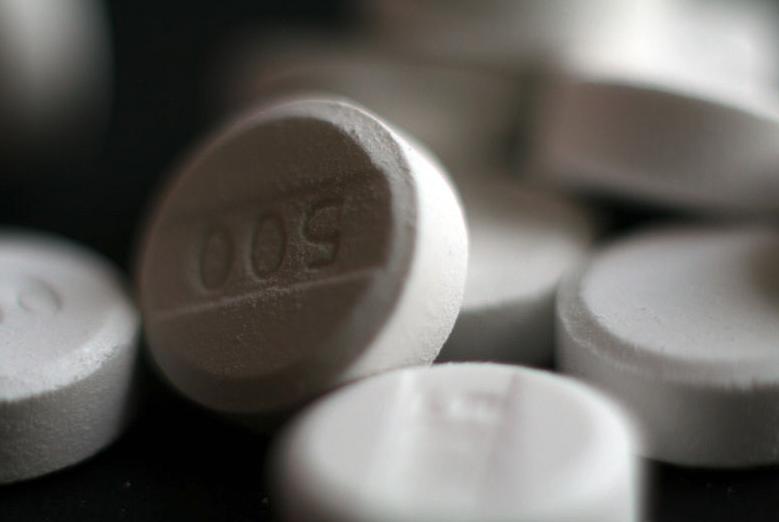 Ученые изучили побочные действия парацетамола