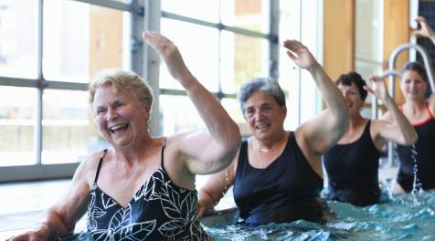 психические упражнения, физические упражнения, пожилые люди