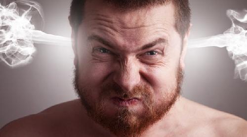 Вспышки гнева могут повысить риск сердечного приступа