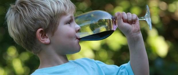 алкоголь, дети