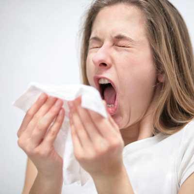зуд, насморк, аллергия