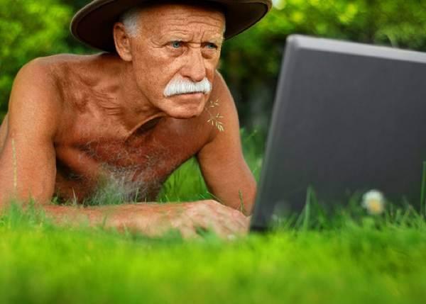 умственная работа, старость