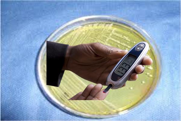 сахарный диабет, золотистый стафилококк