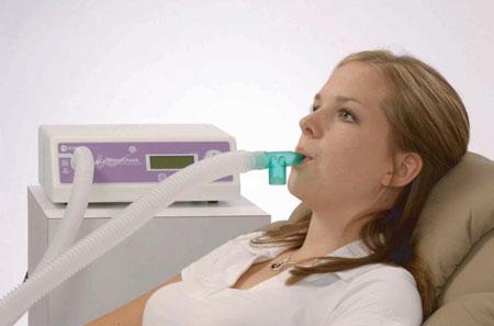 рак легкого, дыхательный тест