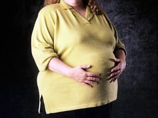 беременность, ожирение