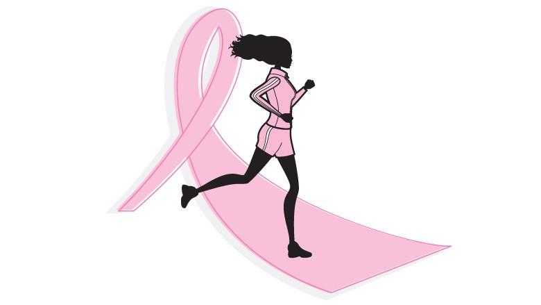 физические упражнения, рак молочной железы