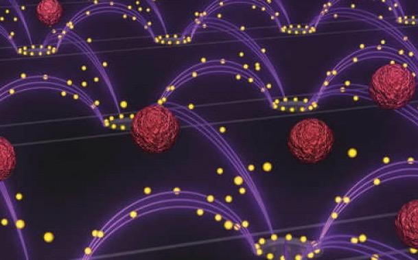микрочип, наночастицы, кровь