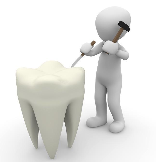 пломба, зуб, биологически активное стекло