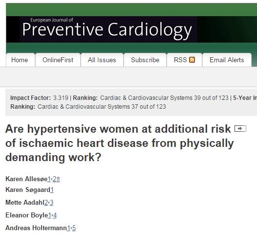 © European Society of Cardiology
