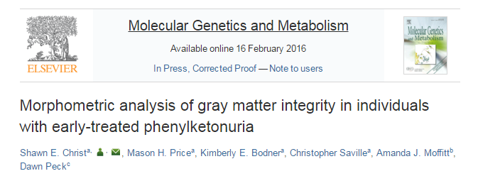фенилкетонурия, Molecular genetics and metabolism