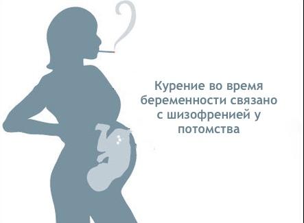 курение, беременность, шизофрения, American Journal of Psychiatry