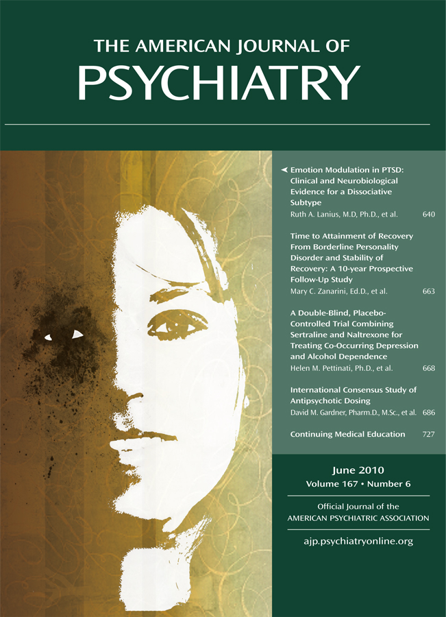 American Journal of Psychiatry