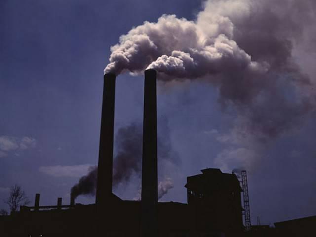 загрязнение воздуха,