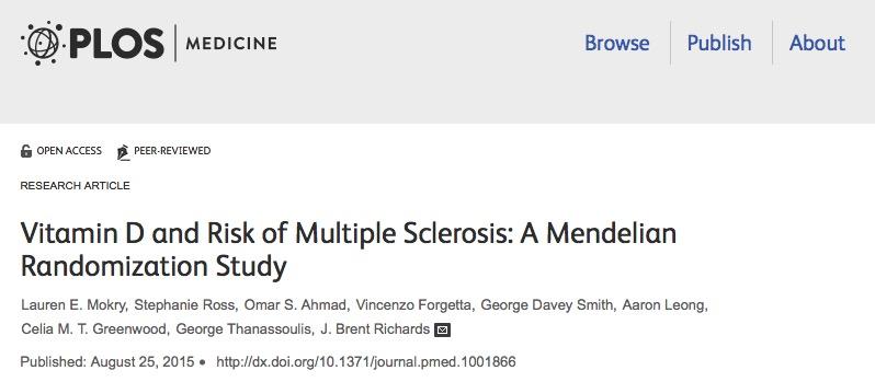 ожирение, рассеянный склероз, PLoS Medicine