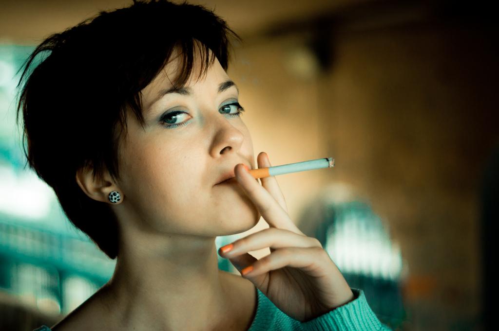 курение, Biological Psychiatry