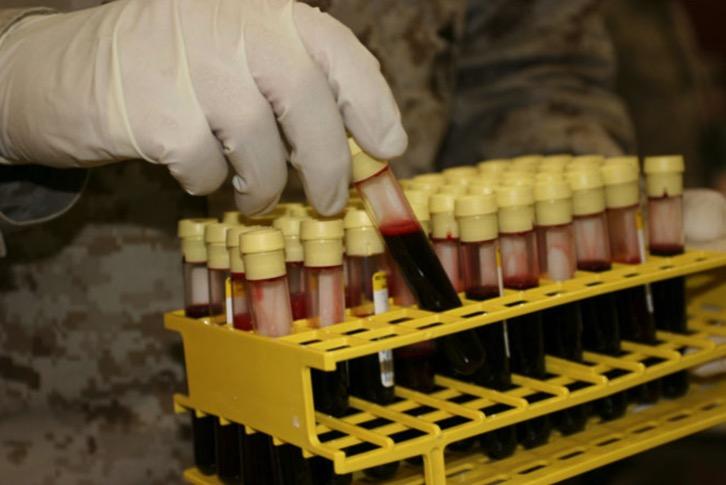 холера, группа крови