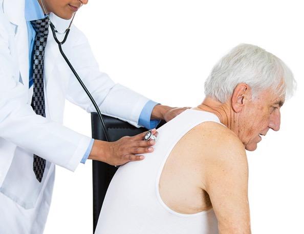 пневмония, пожилые люди