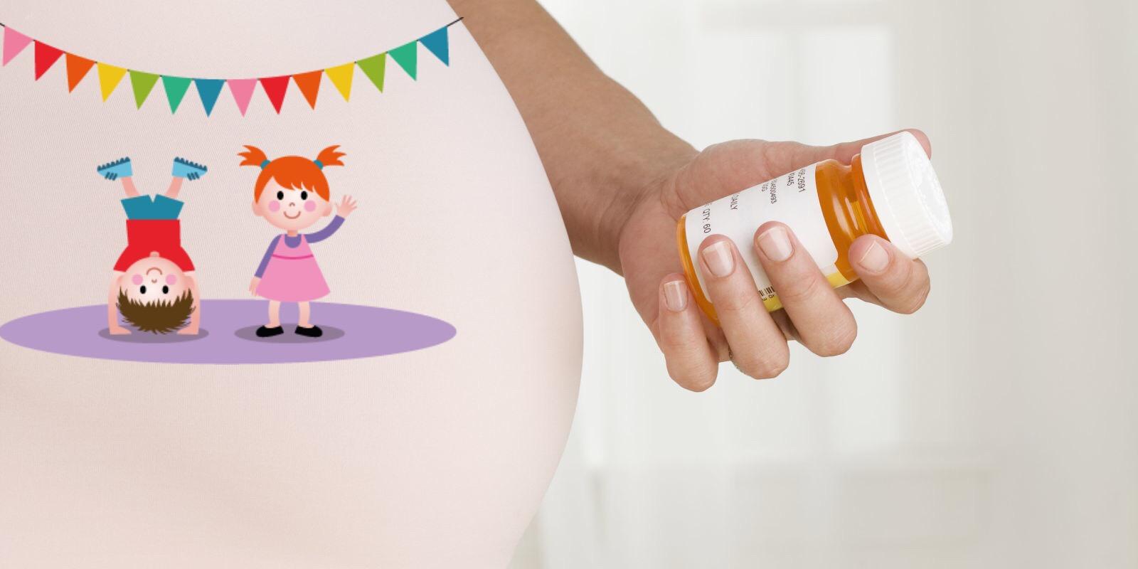 Антидепрессанты, беременность, СДВГ, аутизм