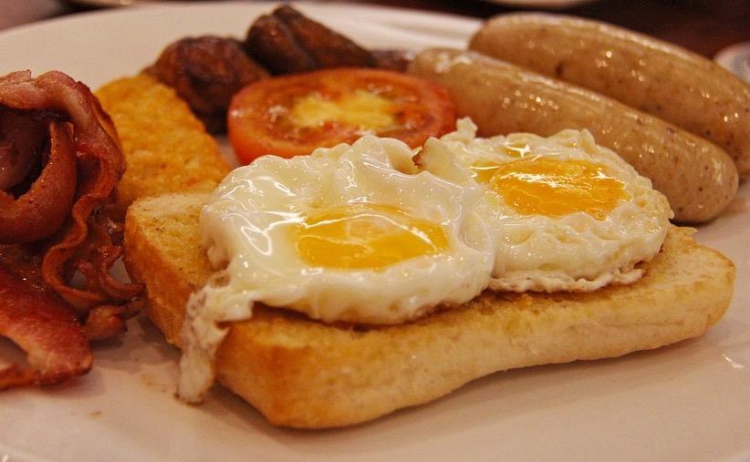 завтрак, вес, похудание