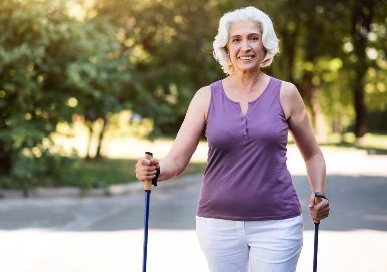 быстрая ходьба, пожилые женщины, продолжительность жизни